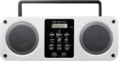 SDigital Mission White Bluetooth Boombox