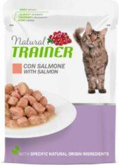 Natural trainer cat mature salmon pouch kattenvoer 12x85 gr
