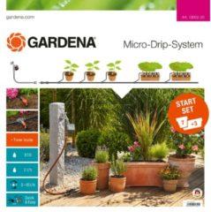 Gardena Micro-Drip-System Start-Set Pflanztöpfe M automati c | 13002-20