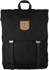 Zwarte Fjällräven Fjallraven Foldsack No.1 Rugzak - 16 l - Unisex - Black