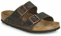 Bruine Slippers Birkenstock ARIZONA SFB