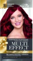 Joanna - Multi Effect Keratin Complex Color Instant Color Shampoo Coloring Shampoo 05 Currant Red 35G
