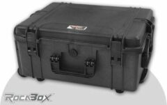 Rocabox - Universele trolley koffer - Waterdicht IP67 - Zwart - RW-5440-24-BFTR - Plukschuim