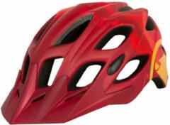 Endura - Hummvee Helm - Fietshelm maat L/XL, rood/roze
