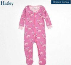 Roze Hatley onesie maat 74