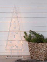 SUSSI Dekobaum,Metall,weiss,120cm,50 LED MARKSLÖJD silber
