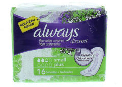 Always Discreet Incontinent light Pad small - 16 Stuks - Incontinentiepads