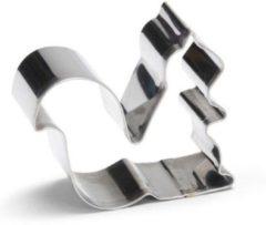 Zilveren Patisse Koekjes Uitsteker Eekhoorn 7 cm