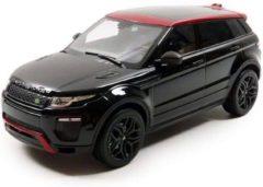 Zwarte Landrover Land Rover Range Rover Evoque Ember Limited Edition - 1:18 - Kyosho