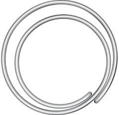 Zilveren Paperclips Alco Circular - 20mm spiraalvorm doos 50st.
