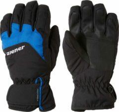 Ziener Lizzard AS Skihandschoenen Junior Wintersporthandschoenen - Unisex - zwart/blauw Maat 5