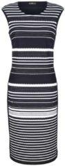Kleid MONA Marineblau/Weiß