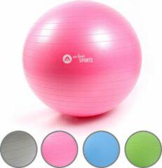 Roze Apollo Fitnessbal en Zitbal ø 65 Gymbal voor Kantoorl