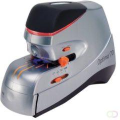 Rexel Optima 70 Heavy Duty Elektrische Nietmachine Zilver/Zwart