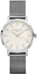 Rosefield The Tribeca White Silver horloge TWS-T52