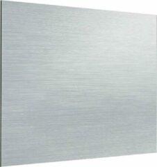 Zambala Uni Metallic Aluminium keuken spatwand voor fornuis 100x80 cm