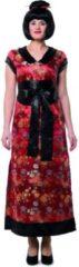 Rode Wilbers Geisha Kostuum | Wu Zetian Chinese Dame | Vrouw | Maat 44 | Carnaval kostuum | Verkleedkleding