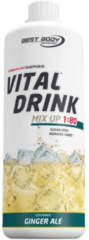 Best Body Nutrition Low Carb Vital Drink 1000ml Ginger Ale