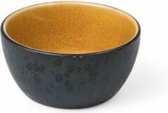 Bitz - Kom keramiek amber / zwart - Diameter 10 cm - Hoogte 5 cm