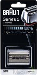 Zilveren Braun 52S Series 5 Cassette - Vervangend Scheerblad Zilver