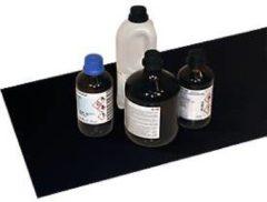 Edelstahl-Antirutschmatte für Gefahrstoffschrank Asecos V-LINE, f. Fachböden, schwarz