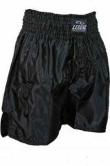 Legend Sports Kickboks broekje legend lang model zwart 8-11 jaar