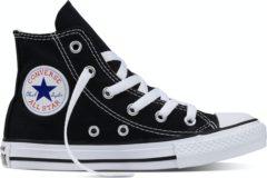 Zwarte Converse Chuck Taylor All Star Hi Classic Colours - Sneakers - Kinderen - Black M9160C - Maat 28