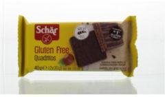 Dr Schar Quadriotos cacao wafel 40 Gram