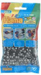 Strijkkralen Hama - 1000 stuks - Zilverkleurig