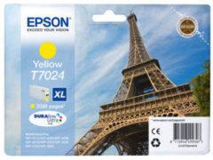 Epson inktcartridge T7024 XL geel, 800 pagina's - OEM: C13T70244010