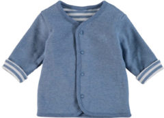Feetje Boys Baby Omkeerbare jas streepjes lichtblauw - Blauw - Gr.68 - Jongen