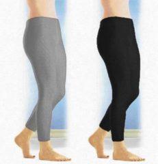 Merkloos / Sans marque Thermo broek zwart one size