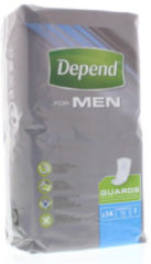 Depend For Men Guards - 14 stuks - incontinentie verband