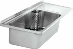 Roestvrijstalen Multipurpose utility sink with standpipe valve material thickness 1,2mm from Franke