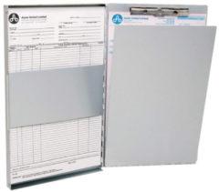 "Westcott AC-E17004 Klembord Met Opbergvak Aluminium A4 (9""x 12"") Open Zijkant Mechaniek"
