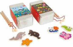 Zilveren Small Foot Company Fishing Game in a Gift Box, Set of 2