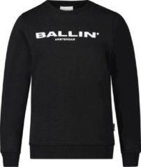 Ballin Slim fit zwart sweaters lente/zomer 2020 Unisex Sweater Maat 176