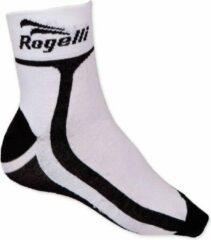 Rogelli Wielersok RCS-03 Coolmax - Wit/Zwart - Maat 27-30