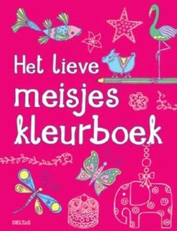 Afbeelding van Bruna Het lieve meisjes kleurboek - Boek Deltas Centrale uitgeverij (9044737155)