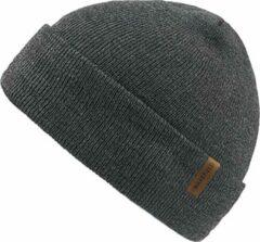 Forest Muts Grijs - Grijze Beanie - Wakefield Headwear - Mutsen