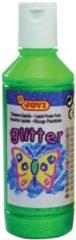 Groene Jovi Plakkaatverf Glitter flacon van 250 ml groen