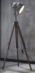 Zaloni Vloerlamp Wezer 116 cm hoog - Grijs