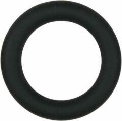 EasyToys Zwarte siliconen cockring medium