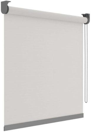 Afbeelding van Decosol Rolgordijn Deluxe doorschijnend 60x190 cm wit met patroon