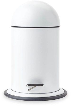 Afbeelding van Witte Aquanova Ona - Pedaalemmer - 3 liter - Wit