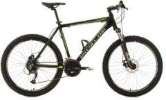 KS Cycling Hardtail-Mountainbike, 26 Zoll, schwarz, 27-Gang-Kettenschaltung, »GTX«