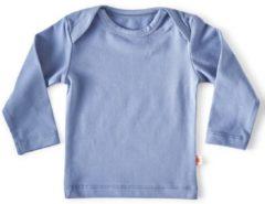 Lichtblauwe Little Label Unisex T-shirt - blauw - Maat 50