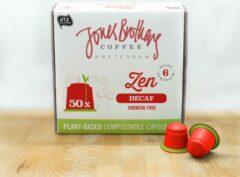 Jones Brothers Coffee composteerbare koffiecups Zen Decaf - 50 cups