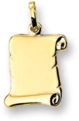 Gele Kasius Trendjuwelier huiscollectie 4006630 Gouden graveerplaat perkament rol