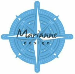 Blauwe Marianne Design Marianne D Creatable kompas LR0534 70x70 mm
